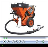 Concrete spraying video - machines SSB 14 / SSB 24